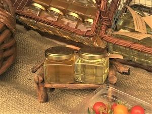 信州産 純粋生はちみつ『秋の百花』140g(無農薬、無濾過、非加熱、無給餌、純粋生蜂蜜)