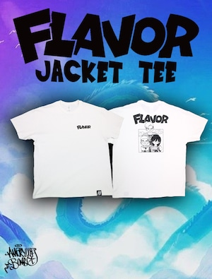 FLAVOR JACKET TEE -White-