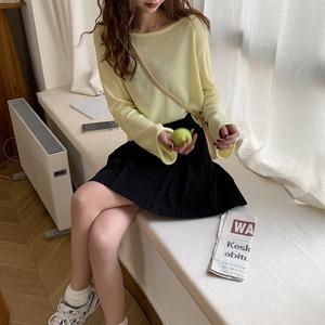 プリーツミニスカート LXZQ79990