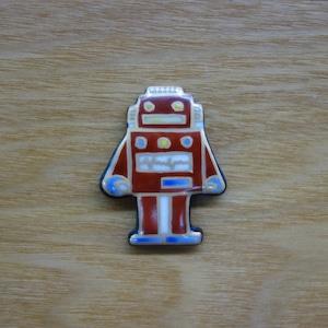 ロボット(帯留・ブローチ)