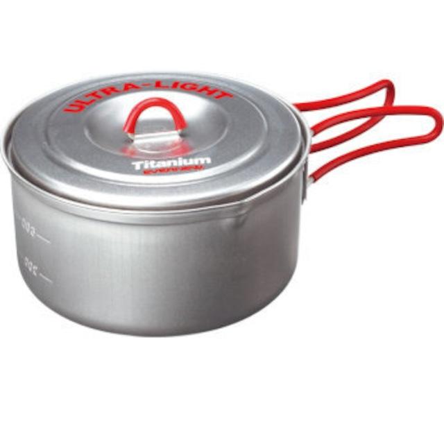 新品 EVERNEW Ultra-Light Cooker 900ml