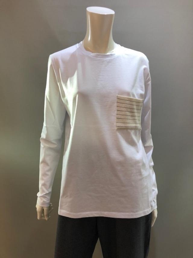 H.A.N.D (ハンド)イタリア製 ロングスリーブTシャツ 35902 0014