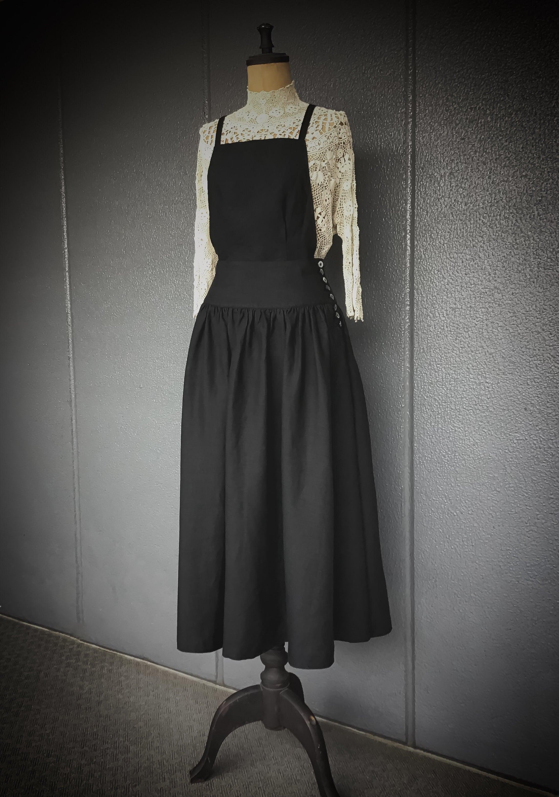3wey  リネン garçonne  look 《 noir 》 在庫Mサイズのみです。