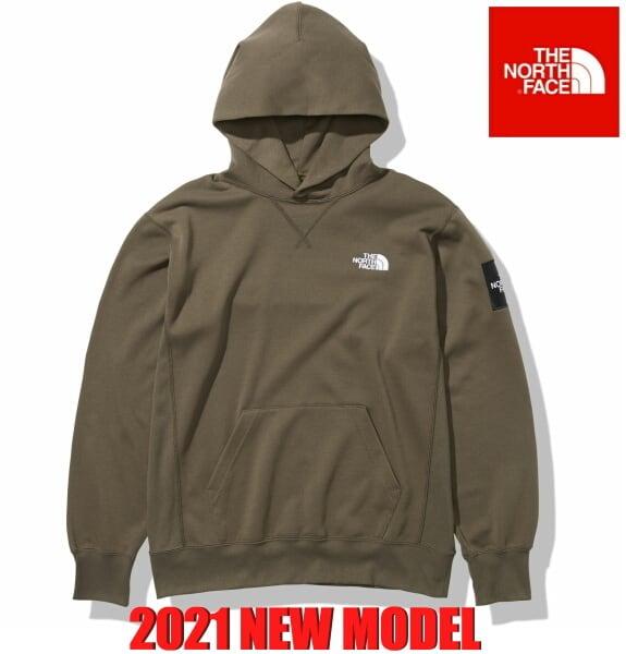 ノースフェイス パーカー フーディー スウェット プルオーバー パーカー スクエアロゴフーディー The North Face Square Logo Hoodie NT12141 ニュートープ 2021年モデル