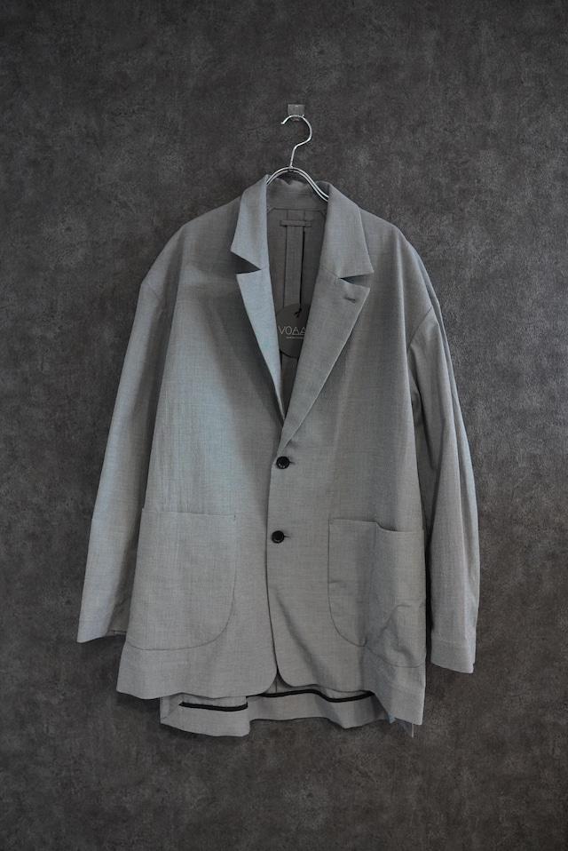 【 2021緊急事態宣言SALE】VOAAOV cottonpoly tailored jacket check