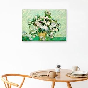 素敵なアートパネル A2サイズ 薔薇のある花瓶 フィンセント・ファン・ゴッホ