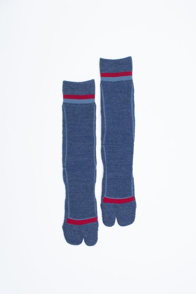 Pile&Mesh Socks(Navy)