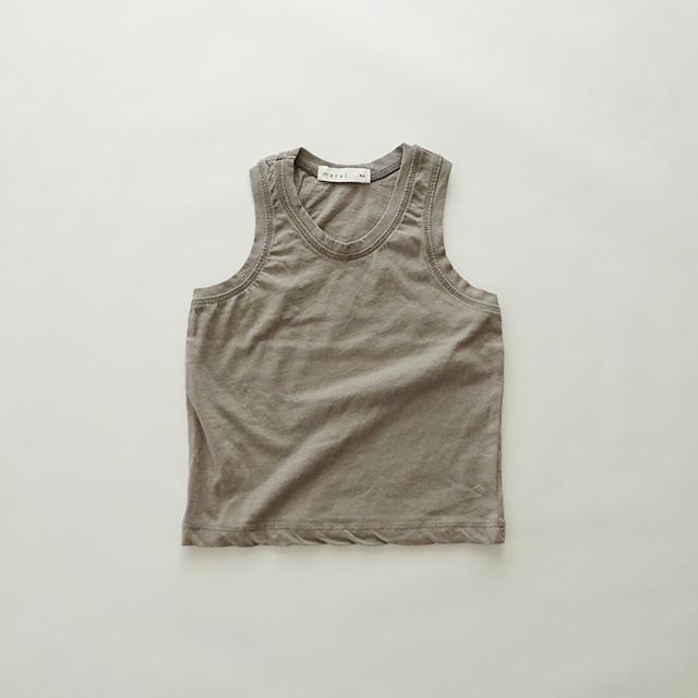 くすみカラー タンクトップ [gray]