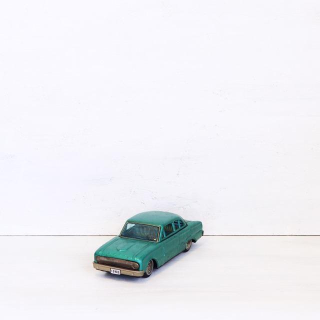 【R-486】SIGN OF B QUALITY フォードファルコン ブリキカー