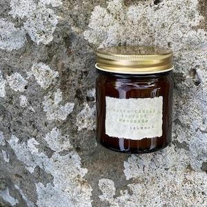 bzLemonビージーレモンの香り(L)soywax100%の木芯キャンドル【ソイワックスキャンドル ソイキャンドル アロマキャンドル】