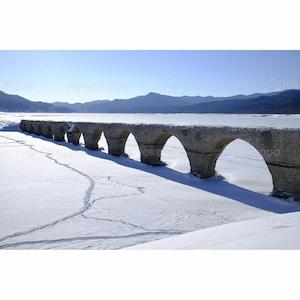 アーチ橋冬