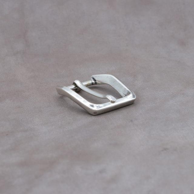 【F27818】イタリア製 バックル 25mm幅 カジュアルベルト用 尾錠 シンプル
