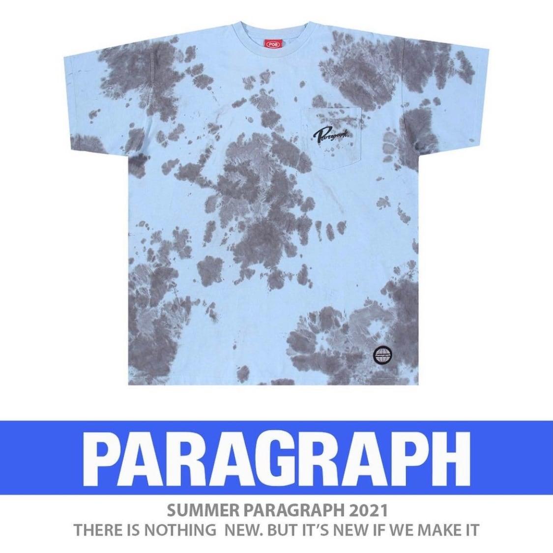 【PARAGRAPH】タイダイ柄Tシャツ