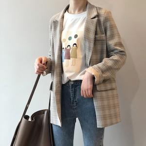 キチンと感が出せる便利なジャケット