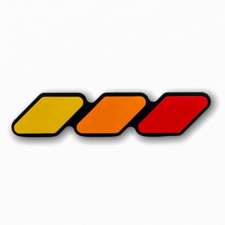 【 TacoVinyl 】 Standard Grille Badge