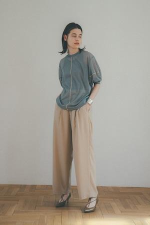 【CLANE】BASIC TUCK PANTS 11110-7002