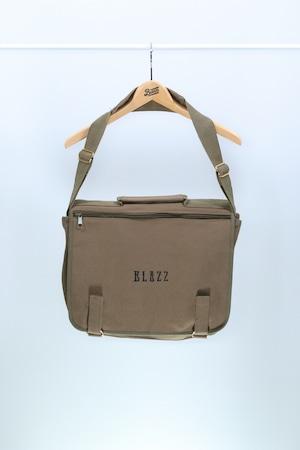 Euro Blazz Canvas School Bag [OLIVE]