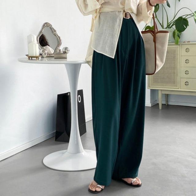 Loose silhouette pants KRE1013