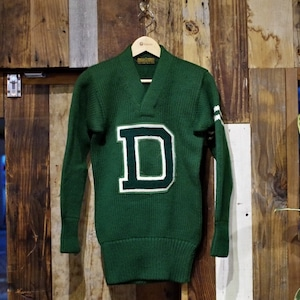 """1930s LOWE & CAMPBELL Lettered Sweater """"Dartmouth College"""" / ロウアンドキャンベル ヴィンテージ セーター"""
