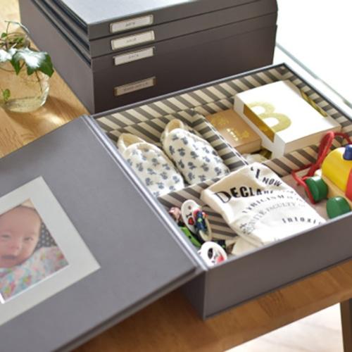 Nakabayashi × OUR HOME「本棚に立てておける メモリアルボックス」OUR-MB-1 【07295】