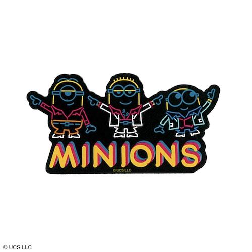 ステッカー/ミニオン(ネオン)【MINIONS POP UP STORE 限定】