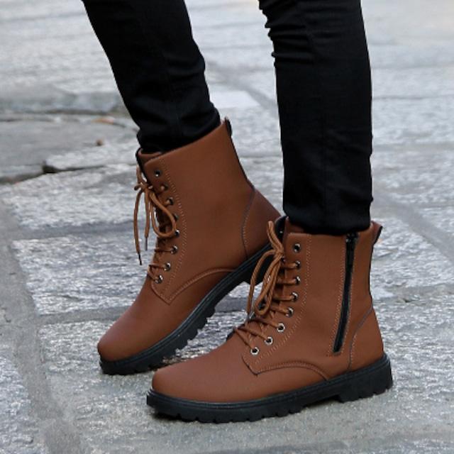 ブーツ ウォーキングシューズ 靴 メンズ シューズ 軽量 カジュアル 春 夏 秋 冬shs-3