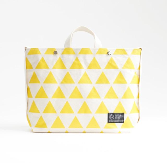 shoulder tote bag/dandelion × scale ショルダートート/ 蒲公英 x 鱗