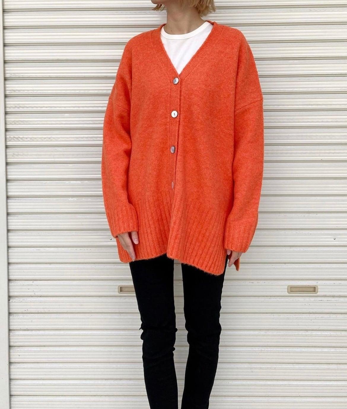 《ご予約品》10月下旬納期【 siro de labonte 】- WHIP YARN LONG CARDIGAN ¥15400
