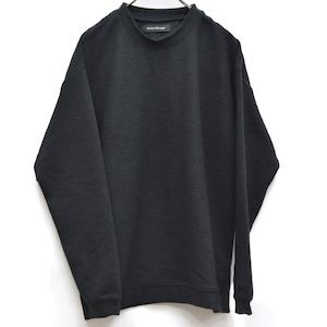Cardigan Rib Stitch Knit & Sewn Black