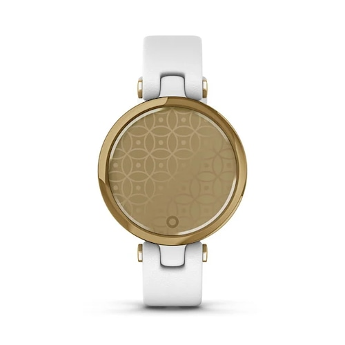 Lily Classic White Leather / Light Gold