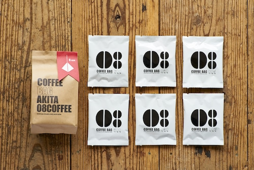 《人気No.4》COFFEE BAG 6個入り
