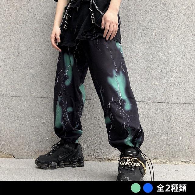 ライトニング裾絞りパンツ(全2色) / HWG322
