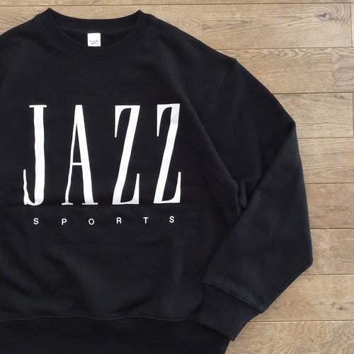 """【ラスト1】JS """"JAZZ & SPORTS"""" スウェット/ブラック"""