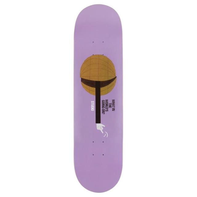 STUDIO SKATEBOARDS What in the World 8.0