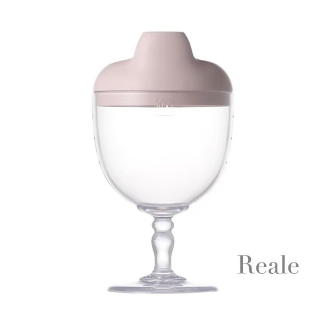 Reale レアーレ ワイングラス型カップ /ソムリエスパウト/ピンク