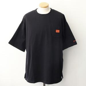 【RVCA】 CHAINMAIL POCKET ST (BLACK)