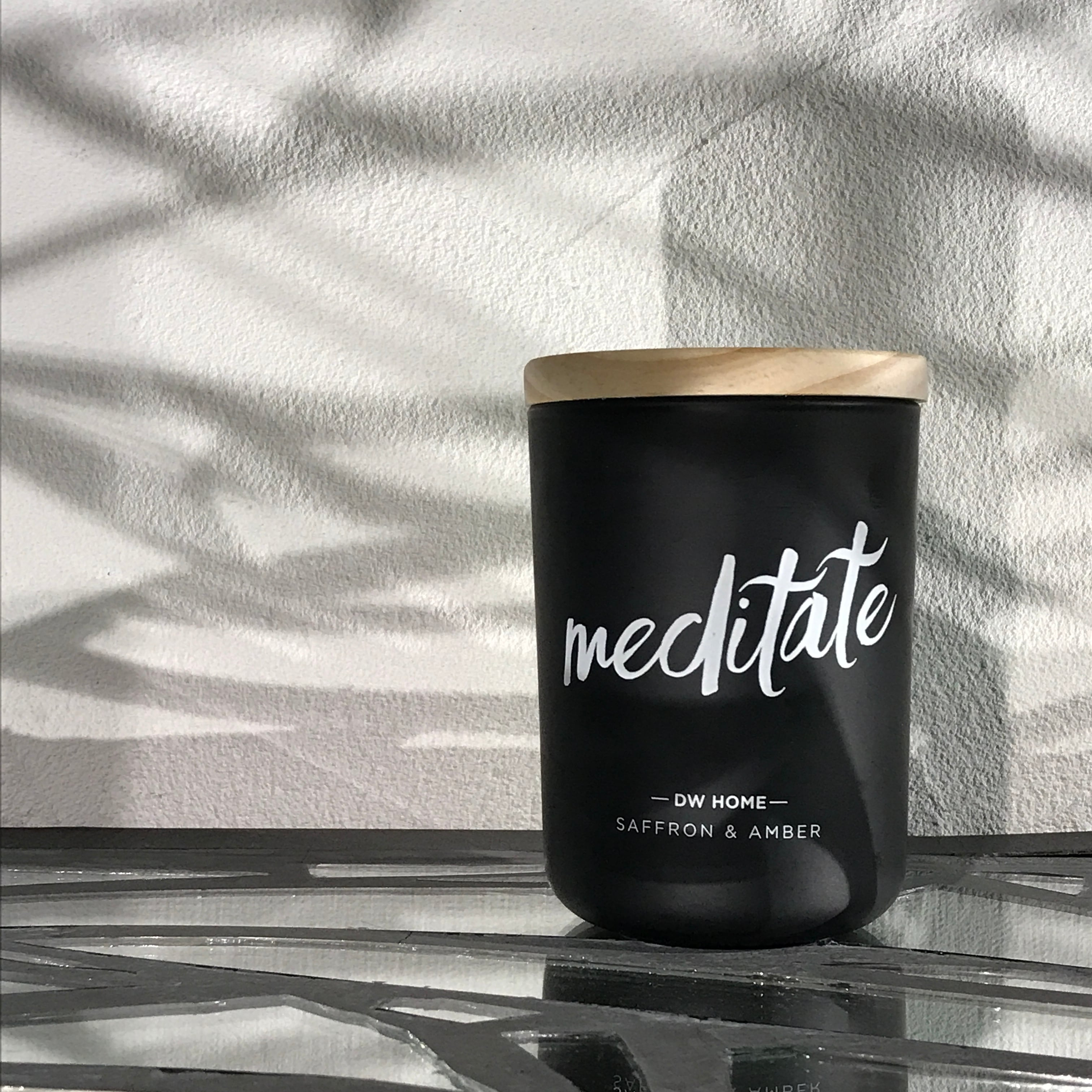 【DW Home Candles】meditate (SAFFRON & AMBER)