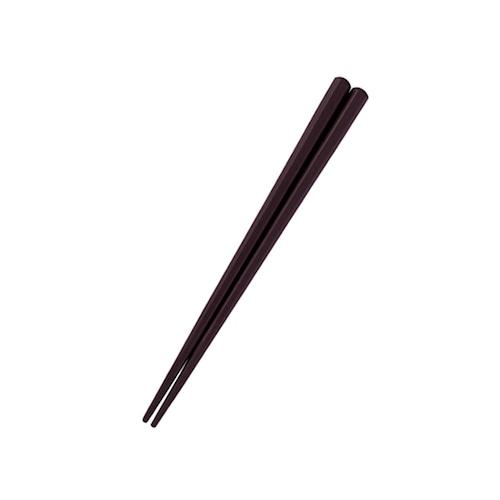 六角形16cm箸 チョコ【OGH-1CH】