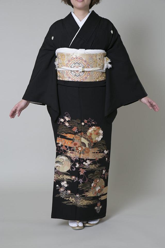 【レンタル】黒留袖 TAM-8(Mサイズ)