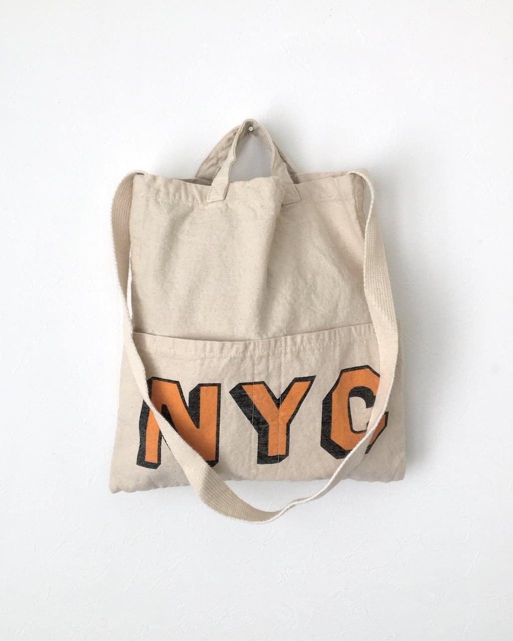 Twill Bag NYC|コットンツイルバッグ NYC