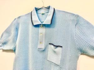 【CRIMPLENE】Knit Polo-shirts【EURO Vintage】