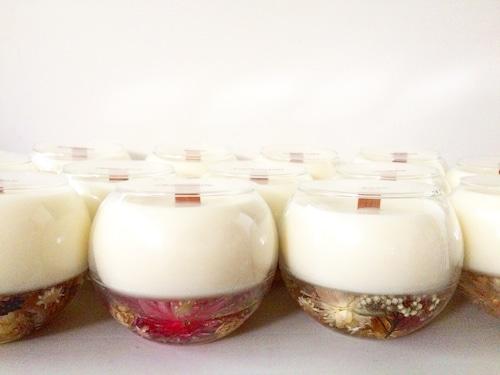 - takibi -  flower botanical candle -fragrance- 4500