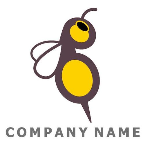 ロゴ 蜂イメージ