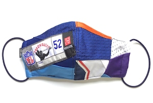 【デザイナーズマスク 吸水速乾COOLMAX使用 日本製】NFL  CRAZY PATTERN SPORTS MASK CTMR 1125024