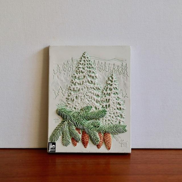 [SOLD OUT] Jie Gantofta ジィ・ガントフタ / 陶板 もみの木
