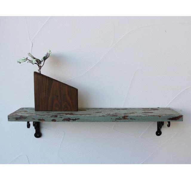 オリジナル棚板【クラックグリーン】