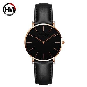 女性のファッション時計因果革ストラップ日本クォーツムーブメントトップ高級ブランド腕時計防水relogiofemininoCH36-FH