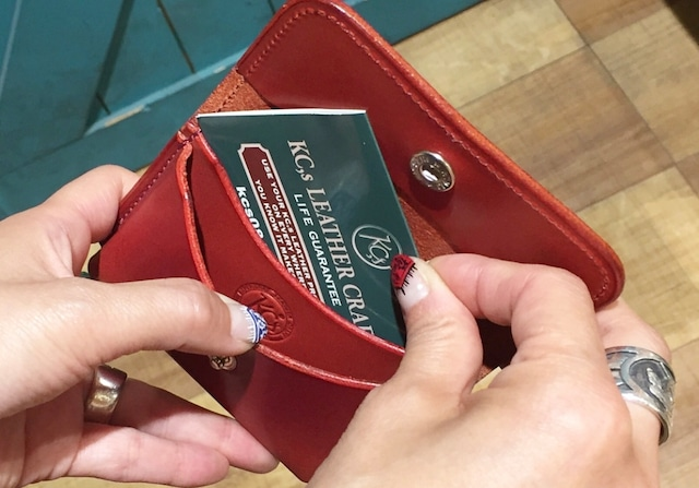 カードケース BOXカードケース カウハイド