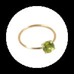 Stone Rings(ストーンリング)EMU015RS-1 ペリドット