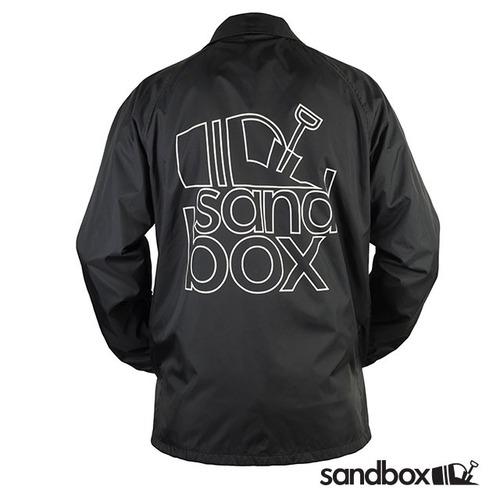 SANDBOX - TEAM COACH'S JACKET - BLACK